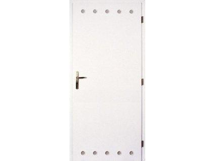 Dveře MASONITE interiérové BÍLÉ + vzdušníky 70 cm