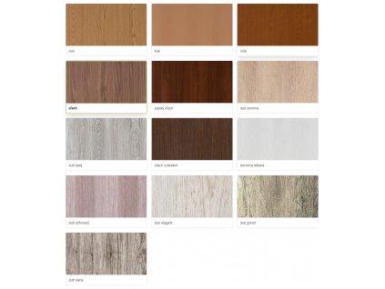 Vnitřní dveře folie 90 cm MASONITE sklo 2/3