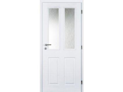Vnitřní dveře BÍLÉ PÓR 80 cm Achilles MASONITE