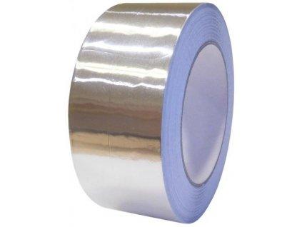 Hliníková páska ALU PROFI zesílená 50mm x 50m jednostranně lepicí