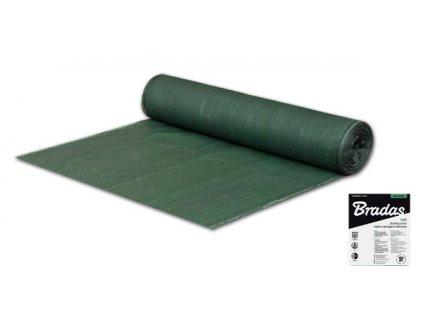 Stínící tkanina 55% BRADAS zelená 1,5 x 25 m síť na pletivo 60 g/m2