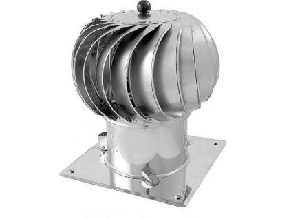 Komínová hlavice se základnou Turbowent 150 mm