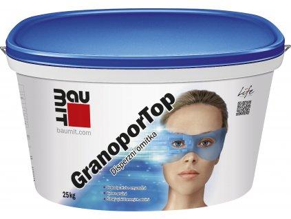 Baumit omítka GranoporTop 2 mm rýhovaná