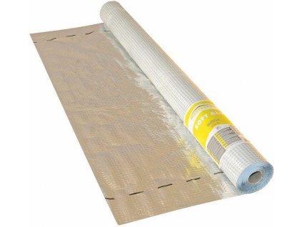 Parotěsná AL střešní folie s mřížkou 1,5x50m 100g MASTERFOL SOFT ALU - E