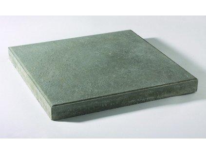 Dlažba hladká plošná betonová 40 x 40 x 4 cm šedá HRONEK