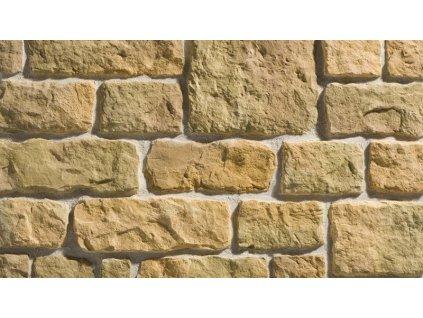 Betonový obklad venkovní imitace kamene CALABRIA MOCCA Stegu