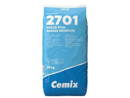 Vnější štuk zrnitost 0,7 mm 023 CEMIX 25 kg