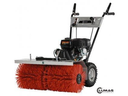Motorový kartáč zametač 4,8kW LUMAG KM 800 Doprava zdarma