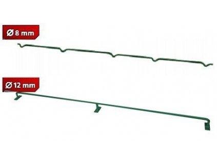 Konzole k uchycení pletiva 8 mm Zn + PVC výška 100 cm Pilecký