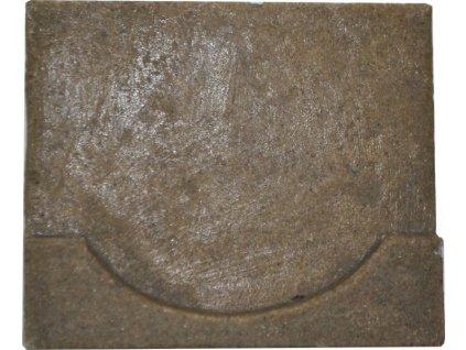 Koncovka záslepka žlabu 125 x 100 mm pro polymerbetonové žlaby VELKÁ