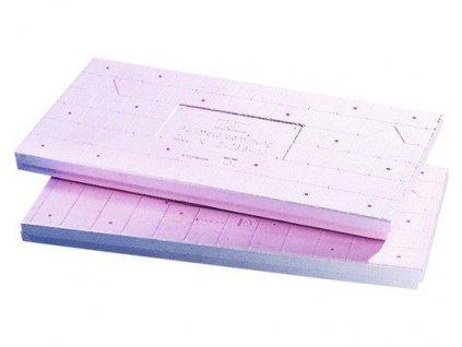 Polystyren PERIMETER 40 mm Bachl s drenážním povrchem
