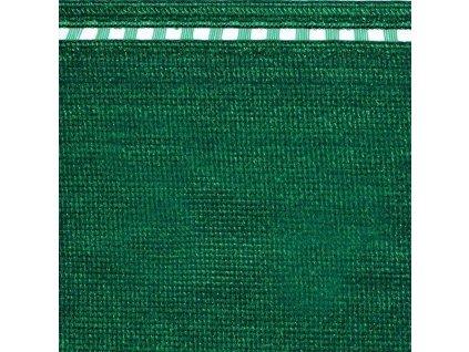 Stínící tkanina na plot 100% síťka 1 x 50 m COIMBRA zelená (230g/m2)