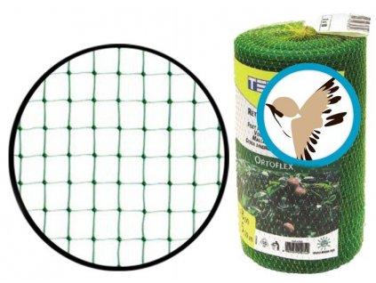 Síť proti ptákům 2x10m (oko 10x12mm) Ortoflex ochrana proti ptactvu