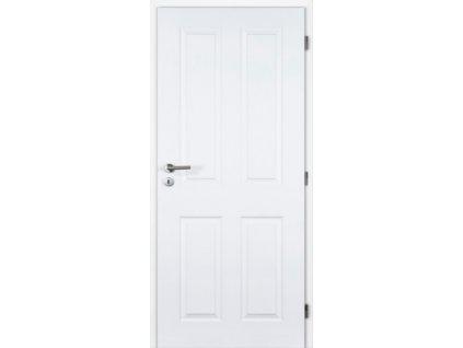 Vnitřní dveře bílé pórové Masonite 60 cm Odysseus