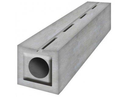 Odvodňovací žlab betonový štěrbinový 90 - 40 t (1000 x 200 x 200 mm)