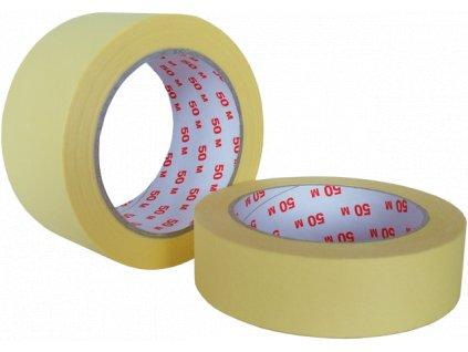 Lepící páska malířská krepová 60°C  - 30mm x 50m