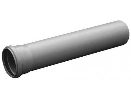 Kanalizační trubka HT hrdlová odpadní DN 50 / 0,25 m vnitřní
