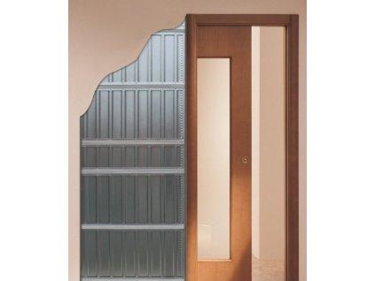 Stavební pouzdro SCRIGNO Stech 800 mm do sádrokartonu ZDARMA DOPRAVA