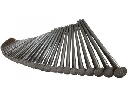 Stavební hřebíky 3,5 x 90 mm OCELOVÉ (5kg)