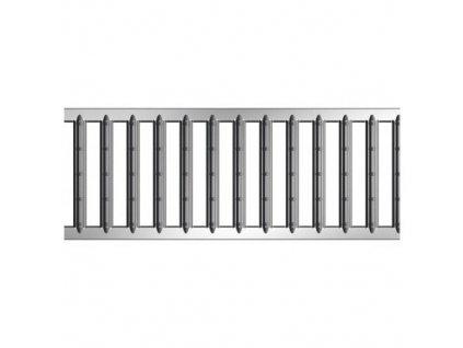 Krycí rošt pro odvodňovací žlaby mříž pozinkovaná 0,5 m ACO Self