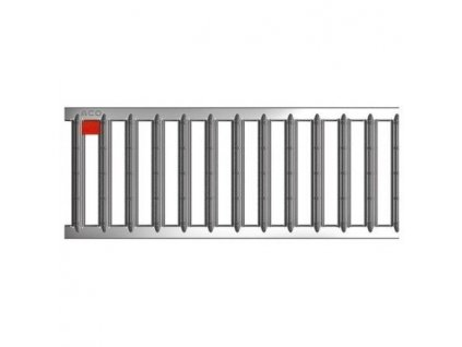 Krycí rošt pro odvodňovací žlaby mříž nerezová 1 m ACO Self