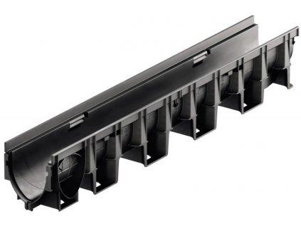 Odvodňovací žlab kompozitní plastový XtraDrain X100C - 1 m ACO