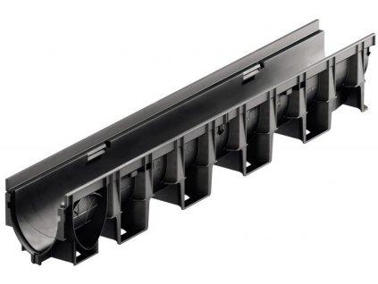 Odvodňovací žlab kompozitní plastový XtraDrain X150C - 1 m ACO