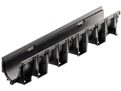 Odvodňovací žlab kompozitní plastový 1 m ACO XtraDrain X200C