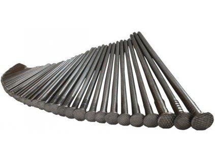 Stavební hřebíky 4 x 100 mm OCELOVÉ (5kg)