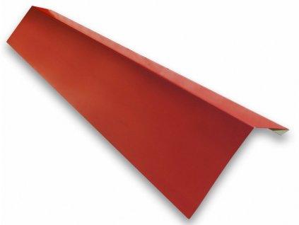 Okapní plech 1 m okapnice červená - višeň