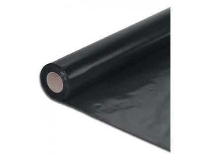 Separační fólie černá ochranná LDPE4 x 25 m polorukáv 100 mikronů