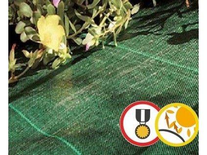 Folie na záhony proti plevelů 105 g/m2 COVER PRO 1,25 x 10 m zelená