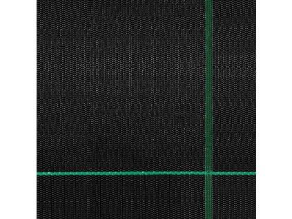 Černá folie Mulčovacízahradní folie proti plevelům 105 g/m2 role 1,6 x 5m.