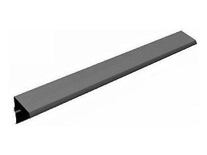 Blachotrapez JÁNOŠÍK závětrná lišta standardní 0,5 PLADUR černá