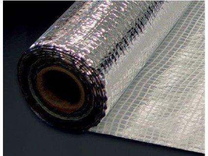 Parotěsná fóllie ALU reflexní 110 N  s PE mřížkou 1,5 x 10 m