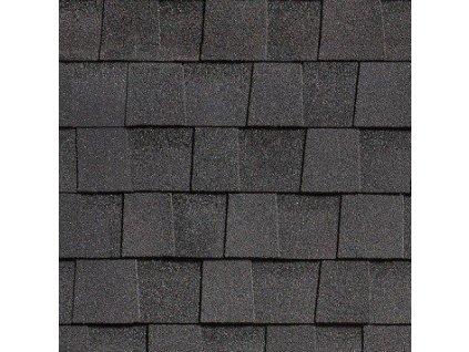 Střešní asfaltový šindel COUNTRY černá