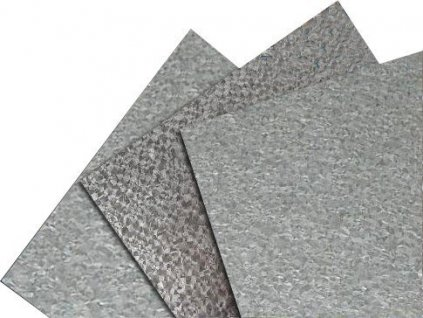 Rovinné plechy 0,5 tabule plechu 1,25 x 2 m pozink Blachotrapez