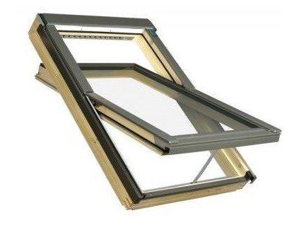 2524 fakro stresni okna drevena 55 x 98 cm ftp v u3 dvojsklo thermo