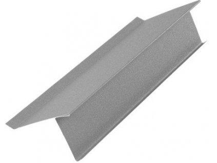 Spodní lemování štítu - plechová krytina Blachotrapez pozink