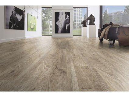 Plovoucí podlaha laminátová V4 Dub KIBO BÉŽOVÝ 12 mm, EUROWOOD MAXIMO