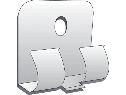 Montážní klipsy k uchycení soklové lišty KAINDL (30 ks v balení)