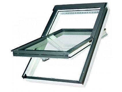 2605 stresni okno drevene fakro 55 x 98 cm ftu v u3 dvojsklo thermo