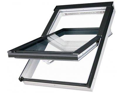 2689 fakro stresni okno plastove 66 x 98 cm ptp v u3 dvojsklo