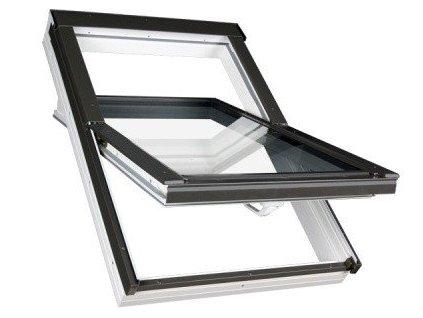 Střešní okno FAKRO plastové 55 x 98 cm PTP-V U5 trojsklo