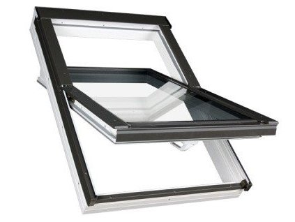 Střešní okna FAKRO plastová 66 x 118 cm PTP-V U5 trojsklo