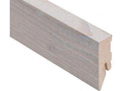Podlahová lišta soklová KAINDL - 2 600 x 50 x 18 mm