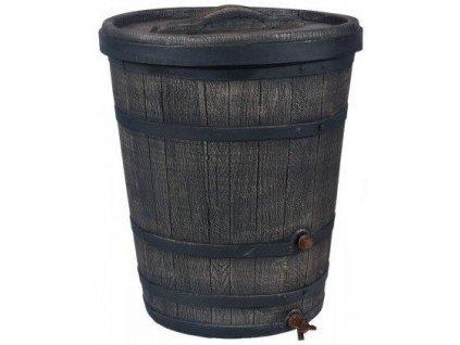 Sud na dešťovou vodu imitace dřeva 130 l