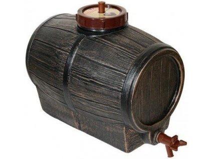 Sud na víno BARIK imitace dřeva 10 l VÝPRODEJ