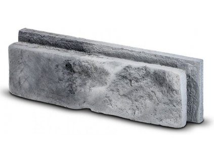 Steinblau Betonový cihlový obklad MODENA 25,5 x 7,5 cm šedý