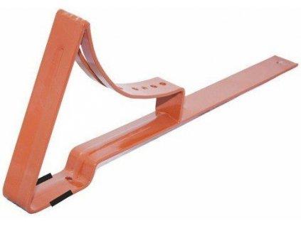 Držák střešní lávky k plechovým krytinám 350 mm - hnědá